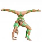 Women Couple of dancers, acrobats.